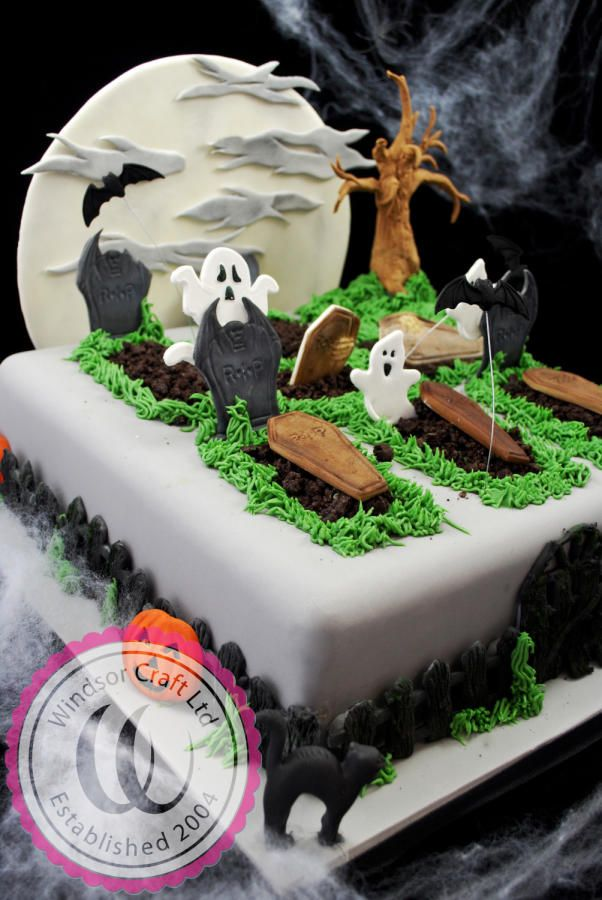 Halloween Graveyard Cake by Windsor - Cake by Windsor Craft
