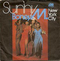 45cat - Boney M - Sunny / New York City - Atlantic - UK - K 10892