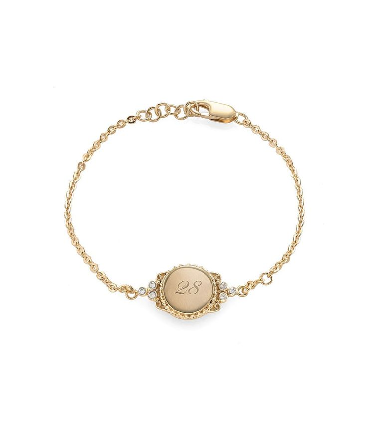 Tulola Engraved Round Station Bracelet (Custom Order) http://www.shoptulola.com/collections/engraved-round-station-bracelet-custom-order.html #SophieParis