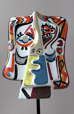 ¤ Cubist Mask - Picasso