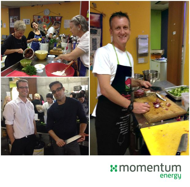 Momentum Energy's volunteering program encourages our staff to take one full day of paid volunteering leave every year. #socialgood