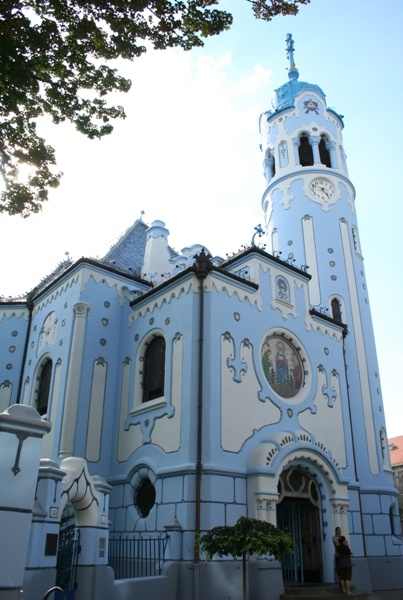 Modry Kostol - Blue Church