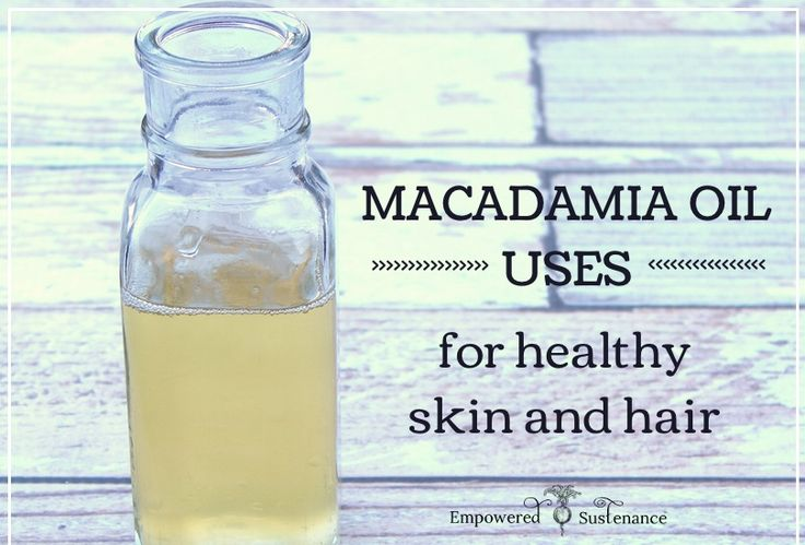 Learn how to use miraculous macadamia oil for clear skin and shiny, healthy hair.