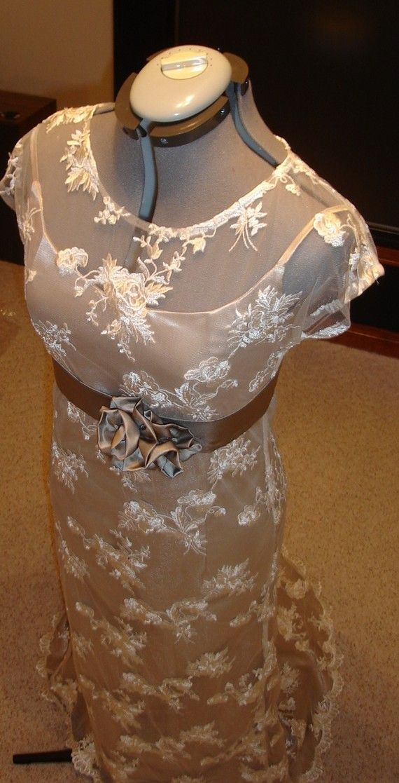 Vintage Style Lace Wedding By Sash Couture By SashCouture1