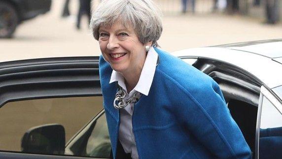Großbritannien: May, oh May: Hat sich die britische Regierungschefin verspekuliert? - Politik - Aktuelle Politik-Nachrichten - Augsburger Allgemeine