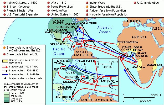 the growth and the fall of the slave trade in north america and latin america Slavery and forced labor in colonial latin america edit since 1980, latin america also lost growth versus the world average both members of the north american free trade agreement (nafta) tourism edit.