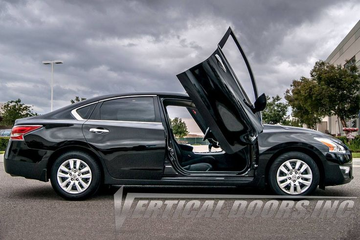 Shop the Best Quality, Made and Patented in the USA Lambo doors kit for your Nissan Altima from Vertical Doors.  Order now at http://verticaldoors.com/nissan/altima-13-16/lambo-doors/nissan-altima-2013-2016-4dr-vertical-lambo-doors  For Sales and Installation, Contact us at 951.273.1069  #verticaldoors #lambodoors #autoparts #madeinusa #patentedinusa #nissan #altima #cars #sales #installation #shoponline #bestprice
