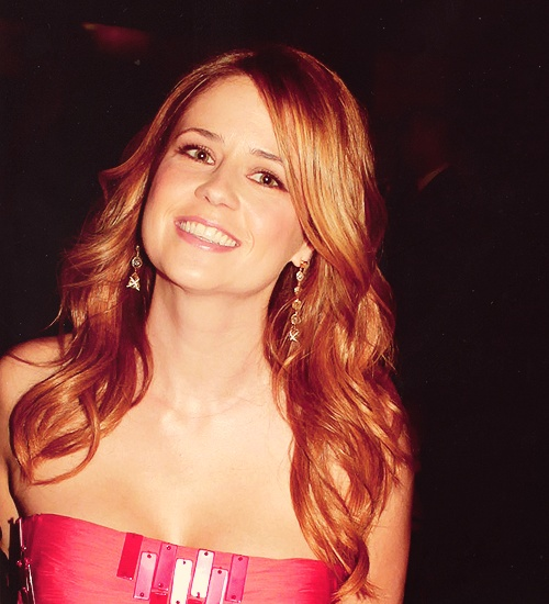 Jenna Fischer.  Most gorgeous.