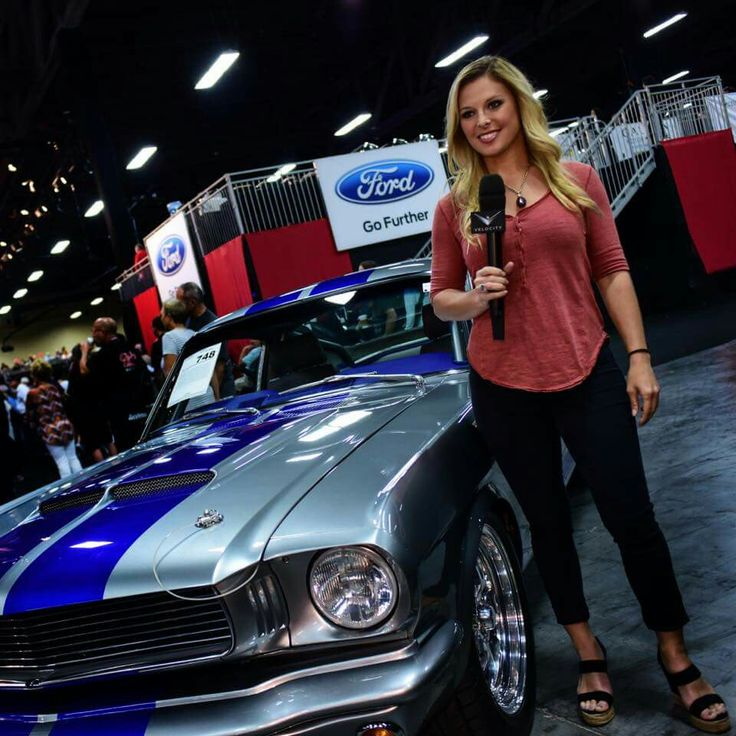 Cristy Lee, Reporting For Barrett-Jackson Auto Auctions