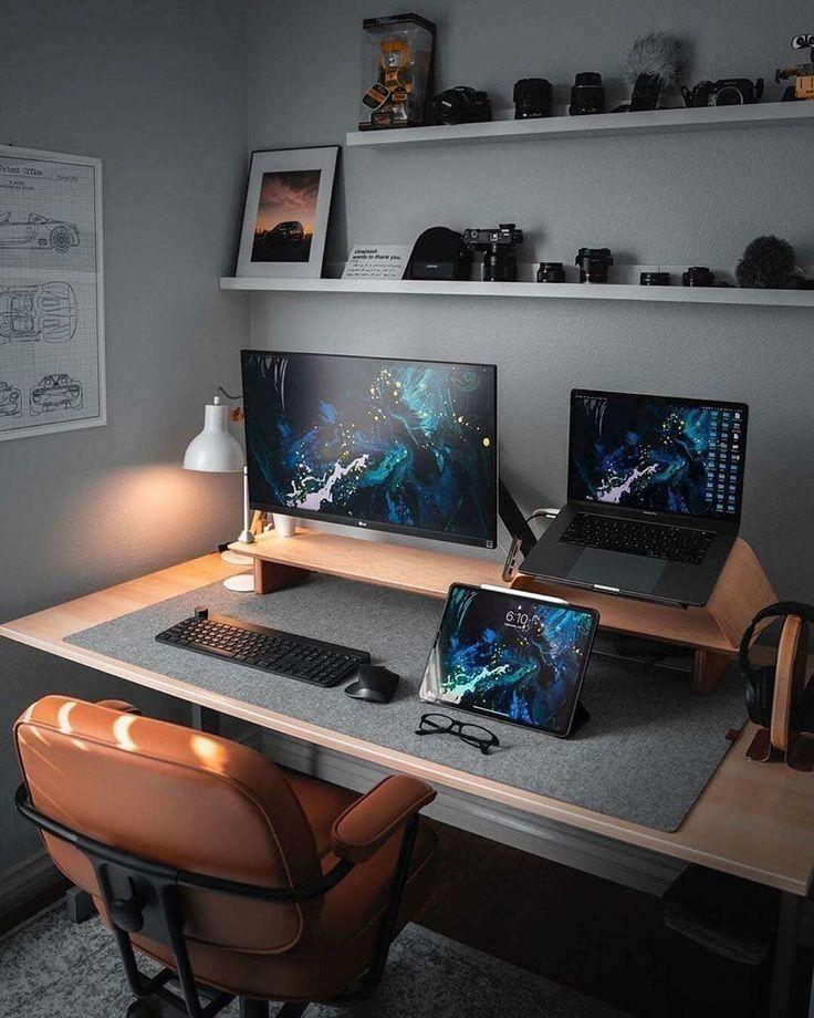 Best Office Desk Setup Gaming Design Ideas Inspiration