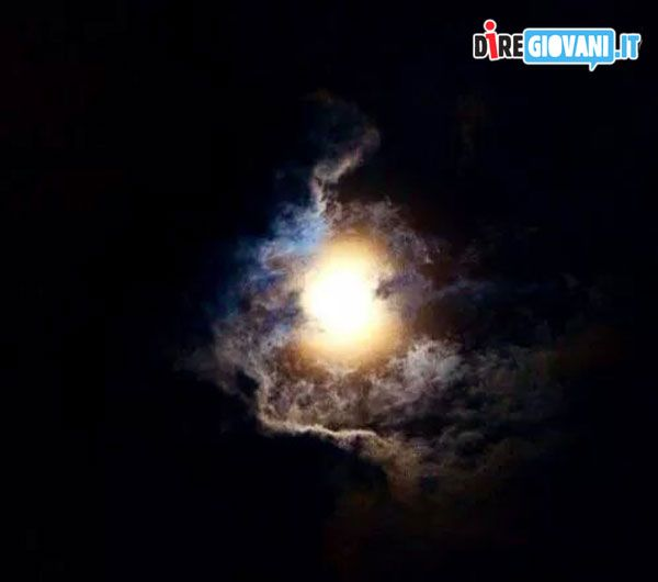 Fool Coludy Moon by Enrico Vescovi