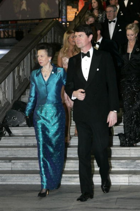 Princess Anne and Commodore Timothy Laurence