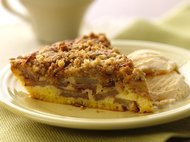 Impossibly Easy French Apple Pie (Gluten Free)