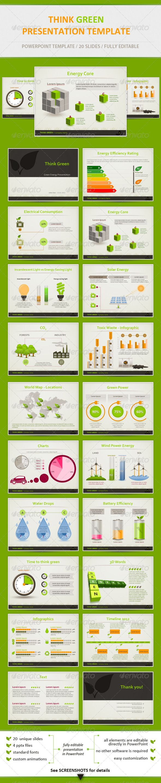 Think Green - Eco Friendly Presentation Template