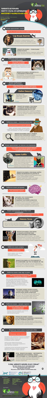 Любители кошек - интроверты с широким кругозором, тонко чувствующие и сумасшедшие гении, способные помочь клиентам глубоко вонзить коготки в целевую аудиторию посредством интернет-маркетинга. Поспорим? )) http://itrex.ru/news/lubiteli_koshek_otlichye_marketologi
