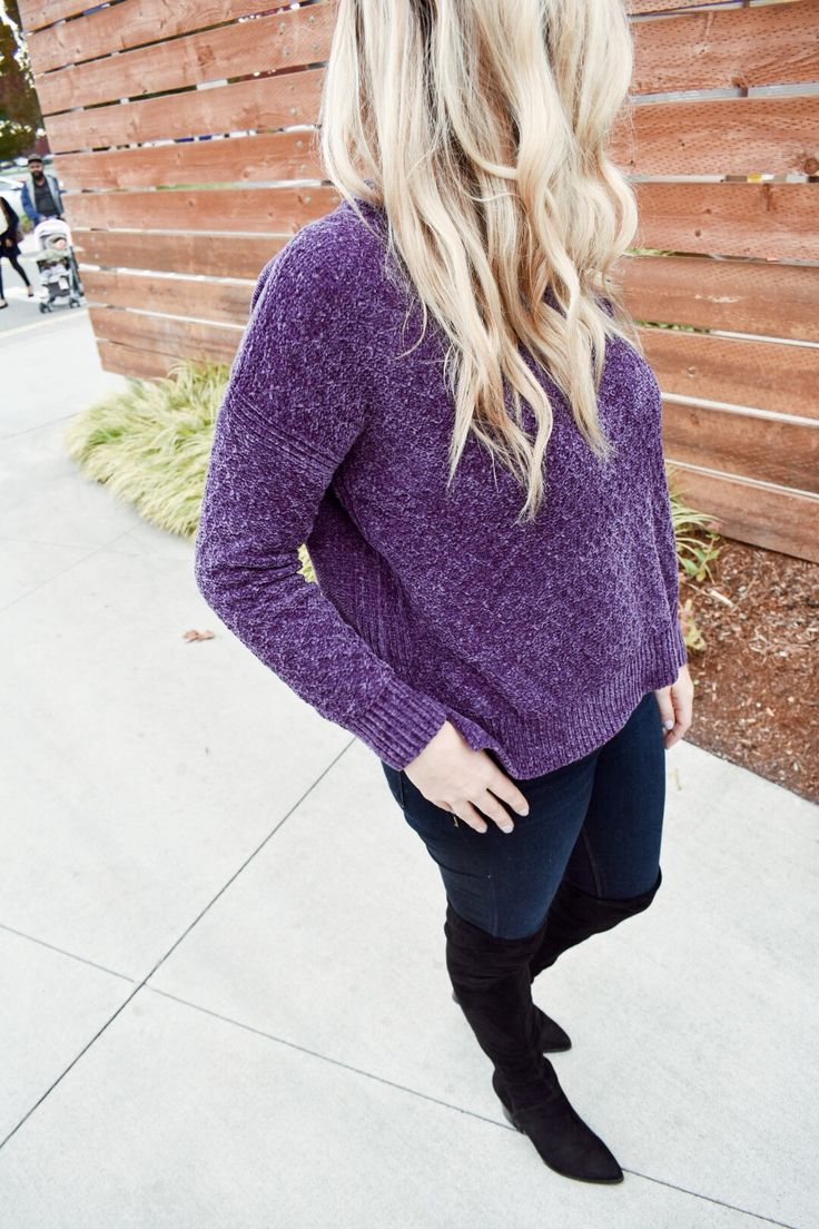Chenille sweater, target style, fall outfit, cute outfits, blonde