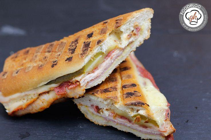 Sandwich Cuban Style - Bacon, Meat & Cheese [Mit freundlicher Unterstützung von Hagen Grote] #Bacon, #CubanSandwich, #Cubano, #Sandwich, #Schinken, #Schweinebraten #foodblog #foodie #food #rezept #foodblog_de #foodpics #rezepte gernekochen.com/...