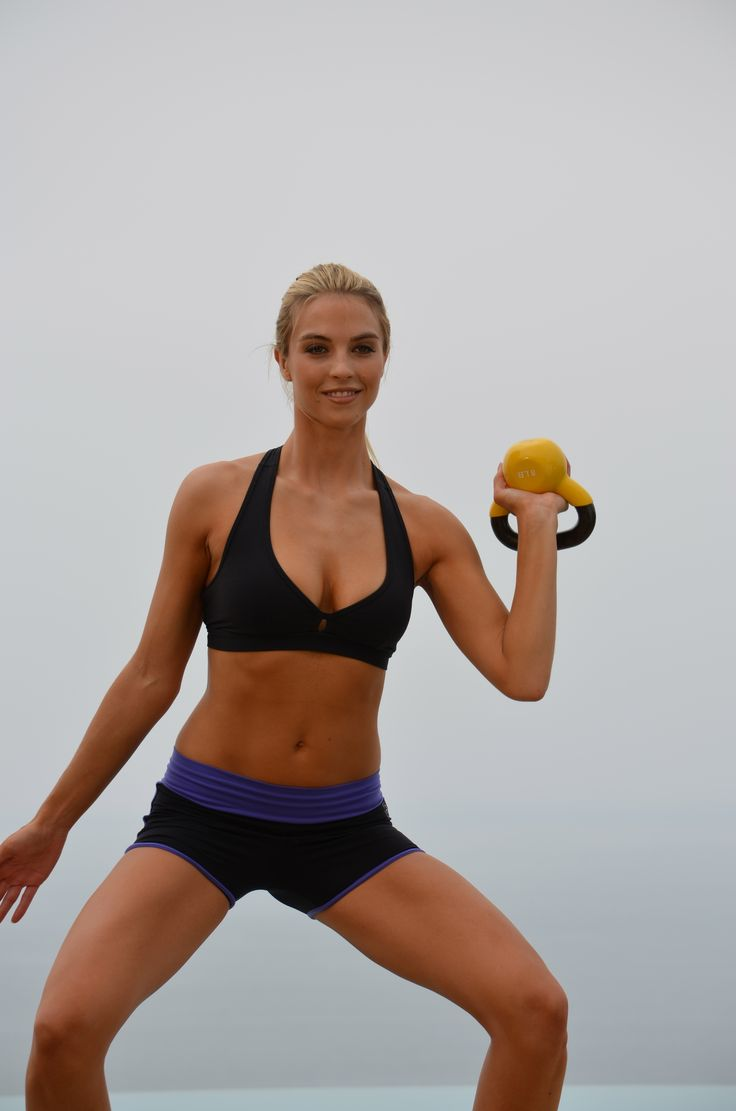 Torch 200 Calories in 10 Minutes! Burn more calories, rest 30 seconds between sets rather than 60. Use 10-20 pound bells. #health #fitness #kettle bells