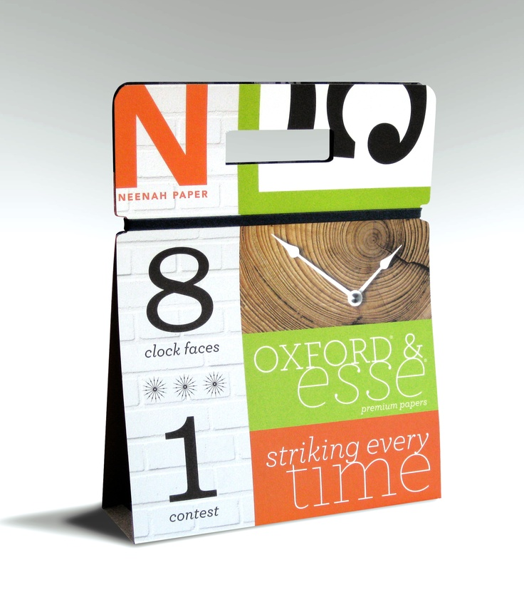 ESSE® and OXFORD® Papers Clock Promo