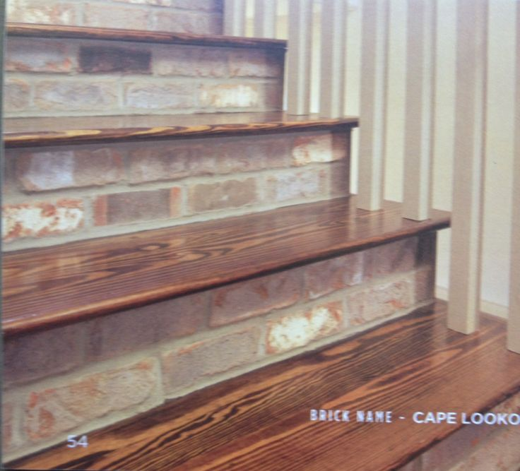 lookout brick cape lookout lookout thin stairs brick brick entry tile