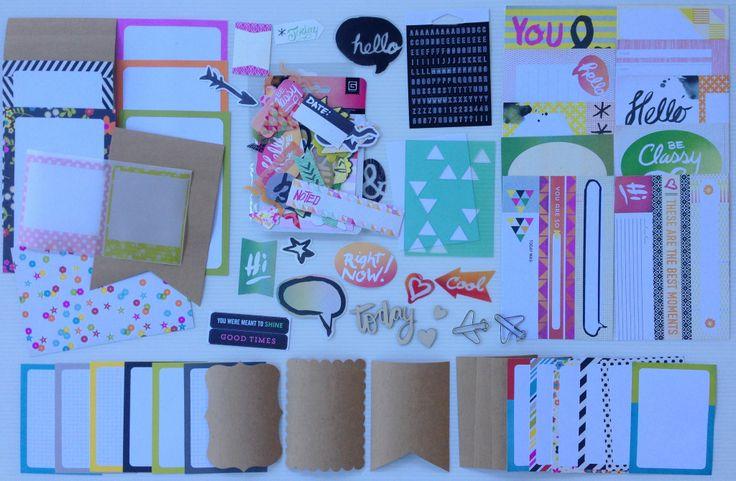 Polly! Scrap Kits May 2014 Pocket Life Kit - Tropical Twilight
