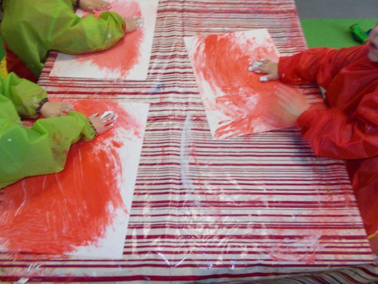 17 beste afbeeldingen over school peuterschrijfdans schrijfdans 4 5j op pinterest fijne - Maken rode verf ...