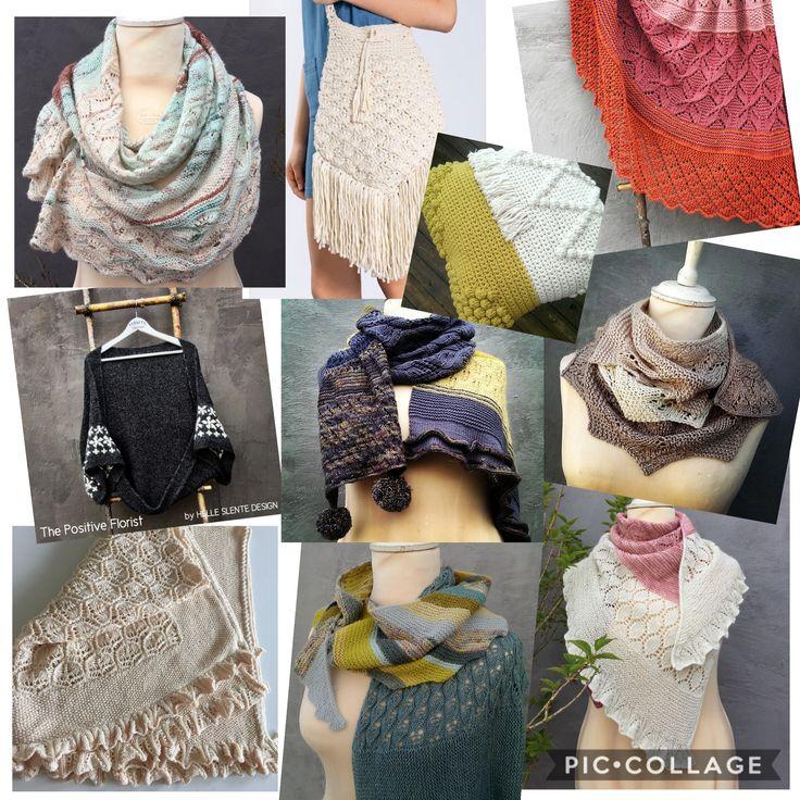 2017-designs by HELLE SLENTE DESIGN   ravelry patterns   knitting pattern   lace knitting   shawls
