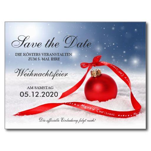 einladungskarten weihnachtsfeier – cloudhash, Einladung