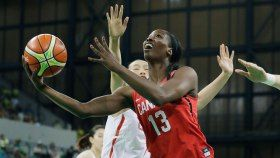 Canada enjoyed an ideal start to the Olympic women's basketball tournament on Saturday, beating China comfortably 90-68. The win puts...