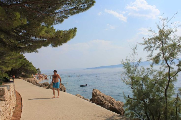 Brela Makarska, Croatia.one of most memorable places