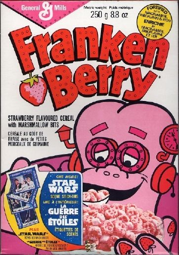 Sugary cereal. Yum.