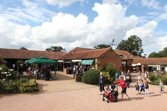 Main Courtyard wroxham barns