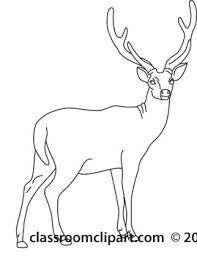 Kuvahaun tulos haulle jumping deer line art