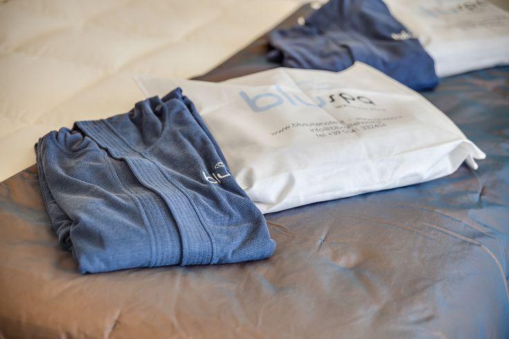 Trovare il Kit Spa sul proprio letto all'arrivo, indossare accappatoio & ciabattine e correre alla Blu Spa... questo si che vi farà iniziare bene le vacanze!