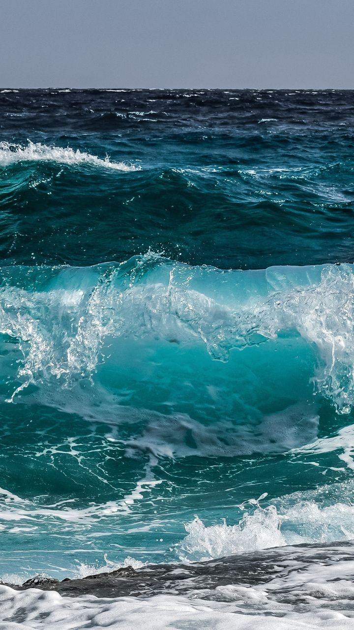pinwallpapers.party on nature | sea, sea waves, waves