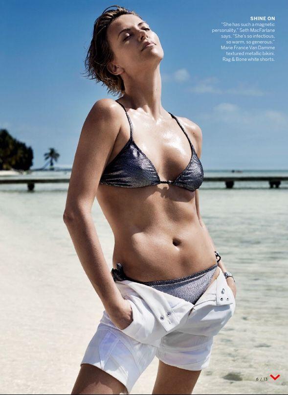 Theron bikini charlize Retro Bikini: