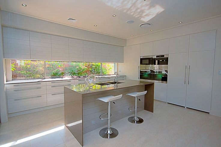 The Skye's kitchen is light and bright