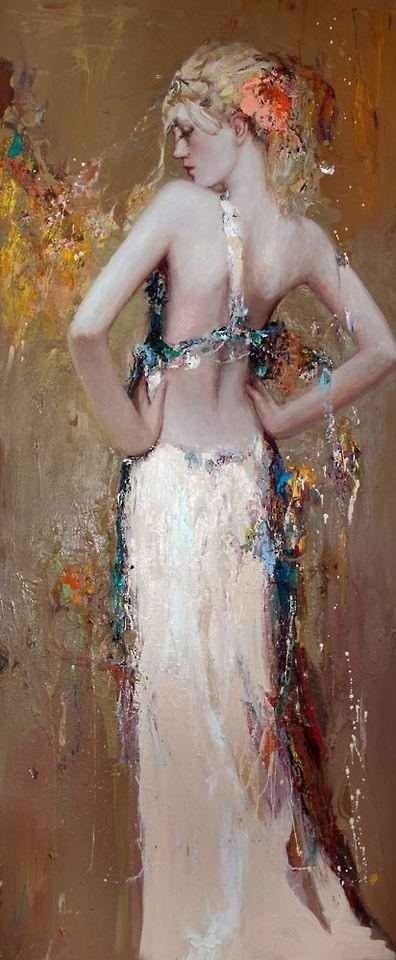 Painting by Mistivlav Pavlov