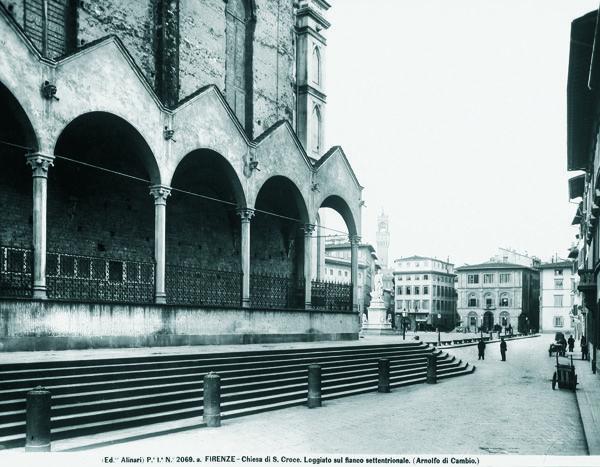 Santa Croce, #Florence, 1920