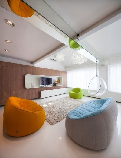 Modern hang out room