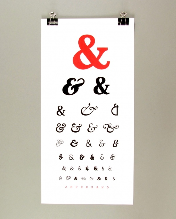 """the ampersand: a ligature of the latin word """"et"""" meaning """"and"""""""