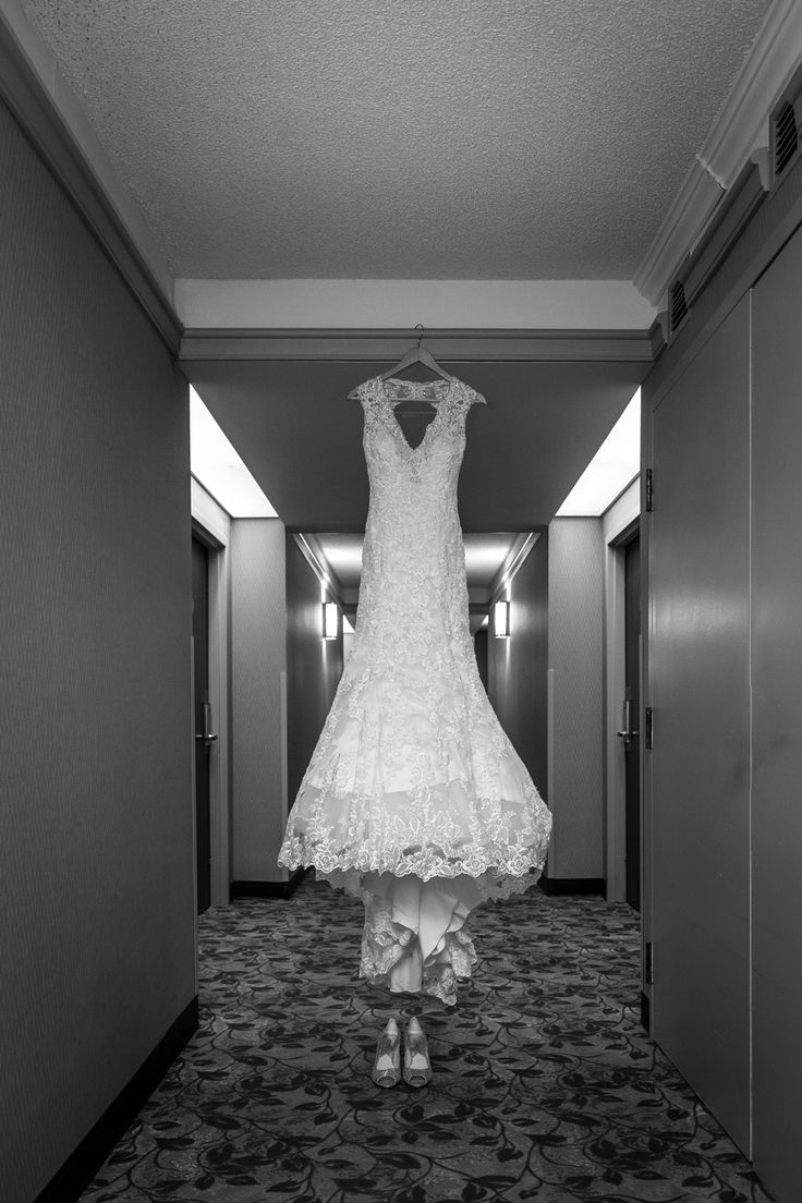 Charlene's beautiful Fit and Flare Lace bridal gown http://www.fusion-events.ca/