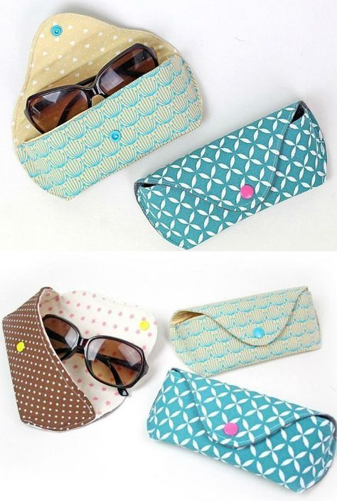 Sewing instruction glasses case CLEO | Sunglasses & glasses