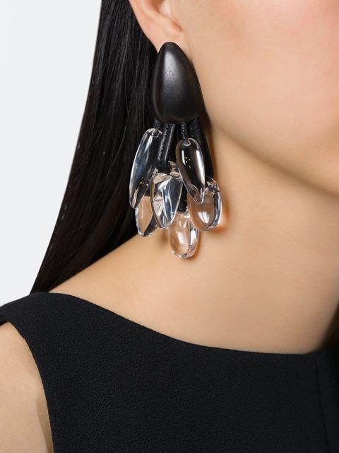 Monies pendant earrings