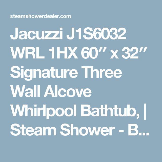 Jacuzzi Esp6060 Wcl 1hx Whirlpool Bathtub: Best 25+ Steam Showers Ideas On Pinterest