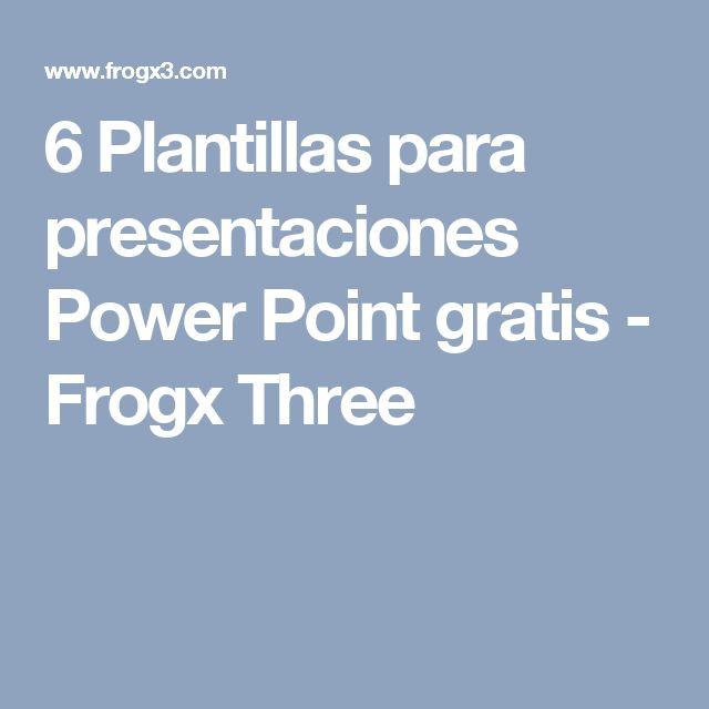 Best  Presentaciones Power Point Gratis Ideas On