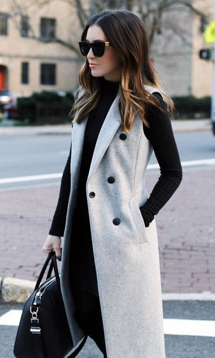 Pretty Work Outfit Idea To Wear This Winter  – Work wear