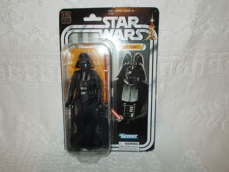 "Star Wars Darth Vader 40th Anniversary Black Series 6"" Action Figure Kenner  #Kenner"