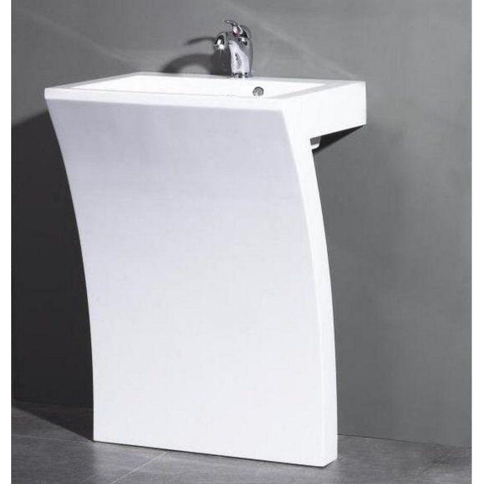 22 Best Pedestal Sinks Modern Bathroom Images On Pinterest Bathroom Sinks Corner Pedestal