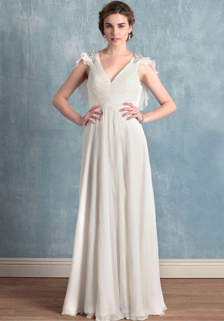 Evelyn, Ruche, $544.99, Wedding Dress